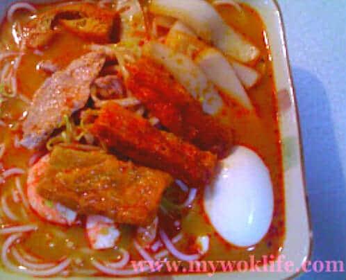 Singapore Laksa Noodle