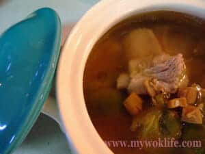 Sze Chuan Vegetable Pork Ribs Soup