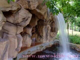 Jacob Ballas Park Waterfall