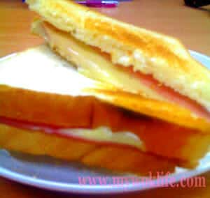 Ham and Cheese Toast