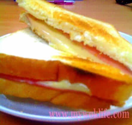 Ham and Cheese Toast