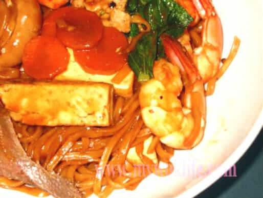 Braised Ee Fu Noodle
