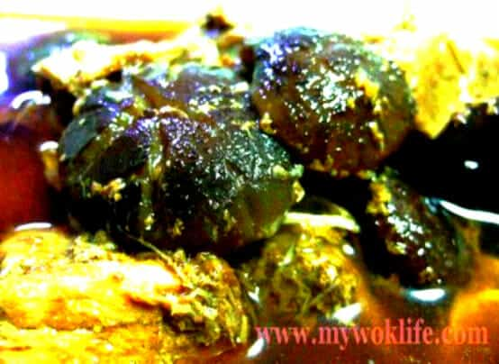 Braised Pork and Mushroms