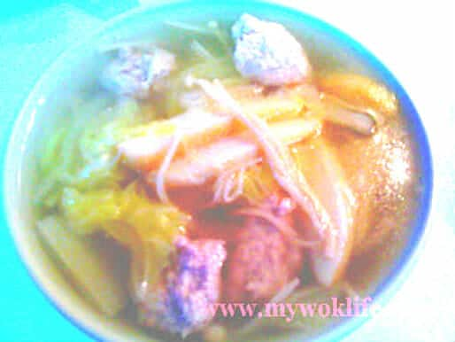 Assorted soup