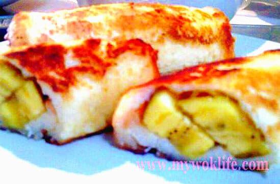 Fried Banana Bread