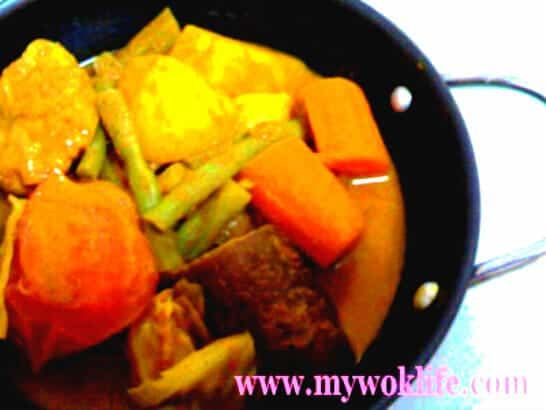 Vegetarian Curry Vegetable