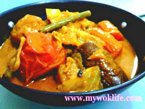 Vegetarian Curry Vegetable