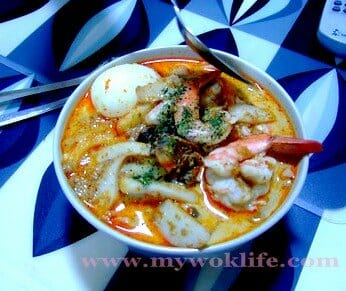 Singapore Curry Laksa with All-in-One Laksa Paste Package