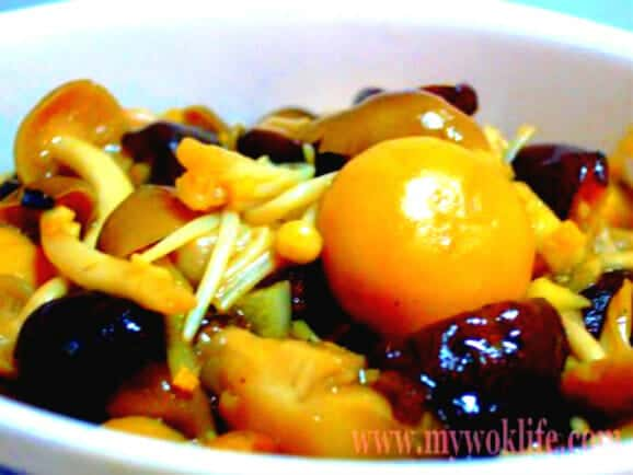 Stir-fried Assorted mushroom