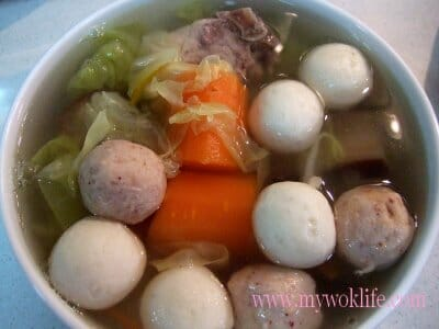 Assorted Clear Soup(什锦清汤)