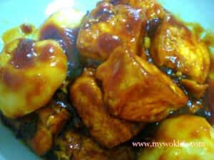 "Delicious ""Chin Chye"" Mood Tofu Dish"