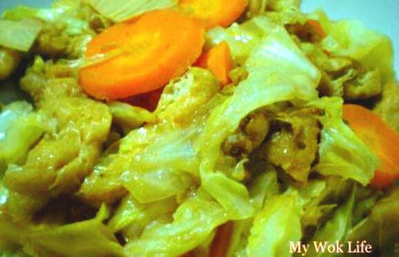 Mixed vegetarian dish