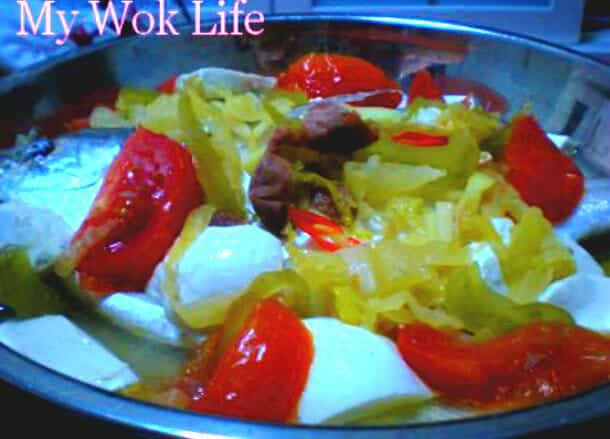 Teow Chew Steamed White Pomfret (潮州蒸白鲳)