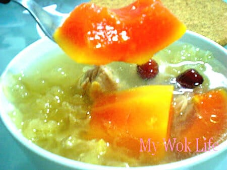 Papaya soup