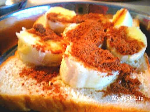 Milo Banana bread