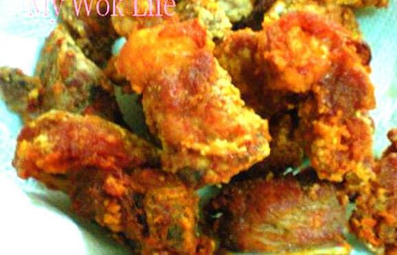 Fried ribs