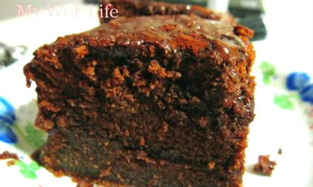 Super moist chocolate fudge cake