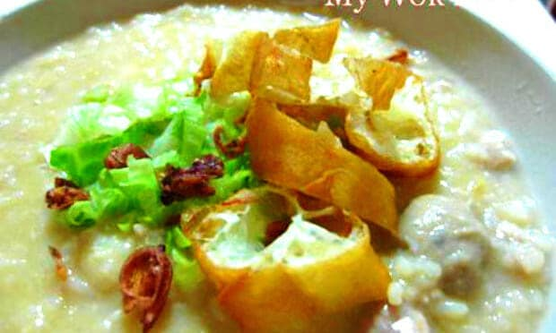 Mixed Pork Porridge