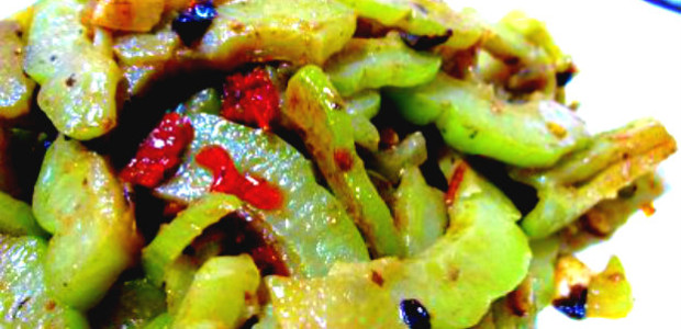 Stir-fried Bitter Gourd with Black Bean