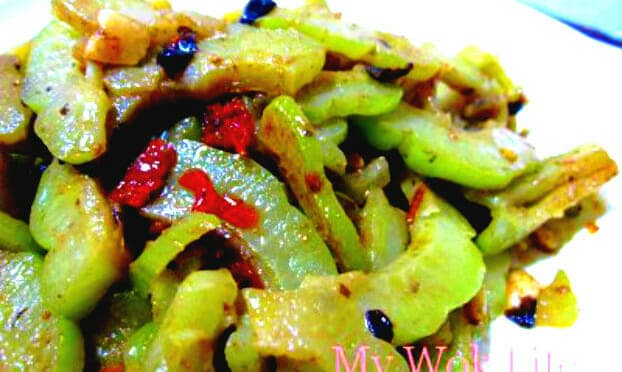 Stir-fried Bitter Gourd with Spicy Black Bean