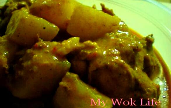 A1 Curry Chicken (Express Recipe)