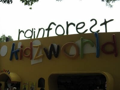 New Rainforest Kidzworld at Singapore Zoo