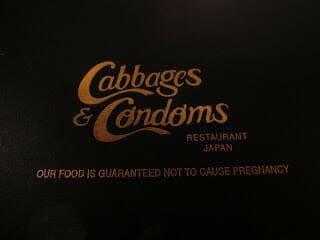 Cabbages & Condoms Thai Restaurant