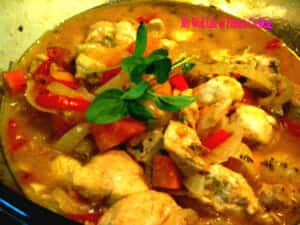 Chicken Sauté Provençale