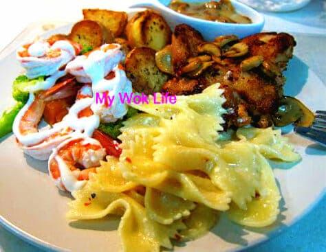 Western meal