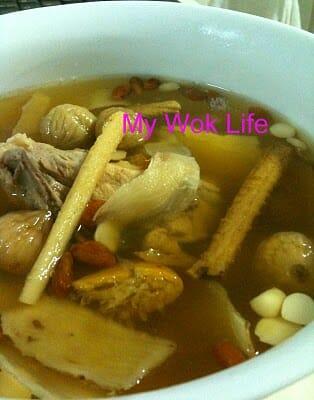 Lung nourishing tonic soup
