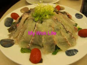 steamboat live fish slices