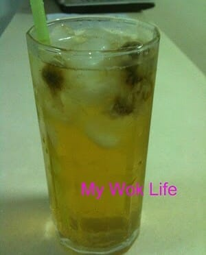 Iced Chrysanthemum tea