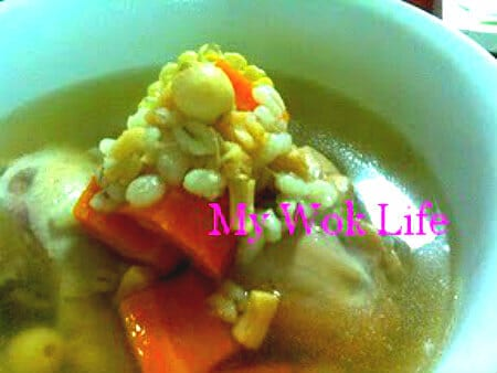 Hearty Chicken Clear Soup
