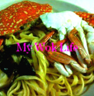 Flower Crab Linguine Pasta