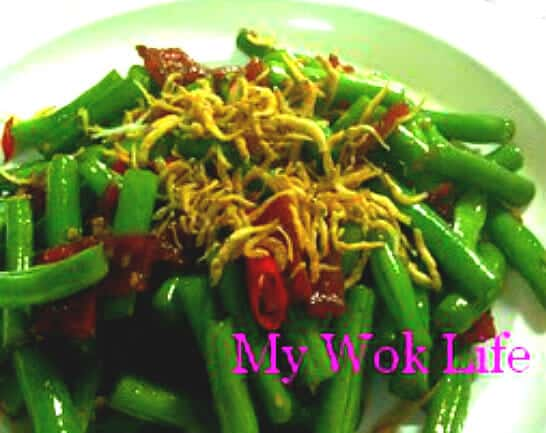 Stir fried French bean