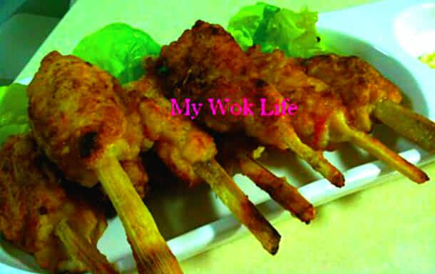 Sugarcane Fish On-stick