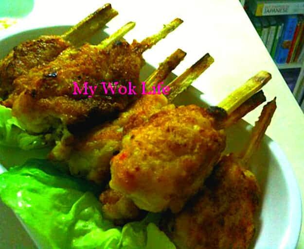 Sugarcane Fish Meat Drumsticks