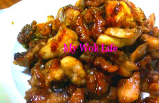 Walnut & Diced Chicken Stir-Fry (核桃炒鸡丁)