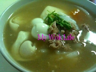 Clear Soup Mee Tai Muk (汤米台目)
