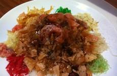 Yusheng Lo Hei Salad