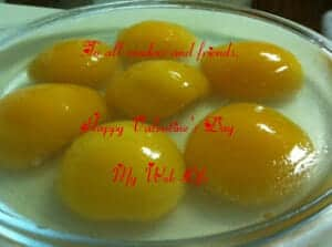Peach Kunnyaku Jelly