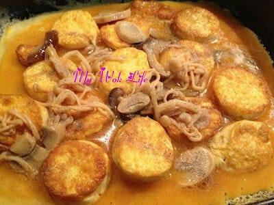 Tofu Egg Hot Plate