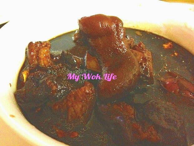 Pork Knuckle in Sweetened Black Vinegar