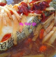 Steamed Cod Fish