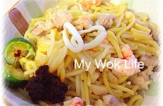 Singapore Fried Hokkien Prawn Mee