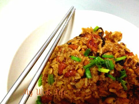 Chinese Stir Fried Glutinous Rice from Raw (生炒穤米飯)