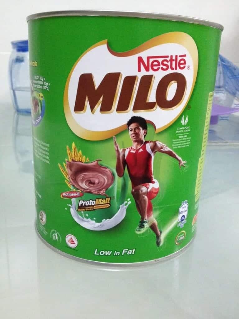 Milo tin