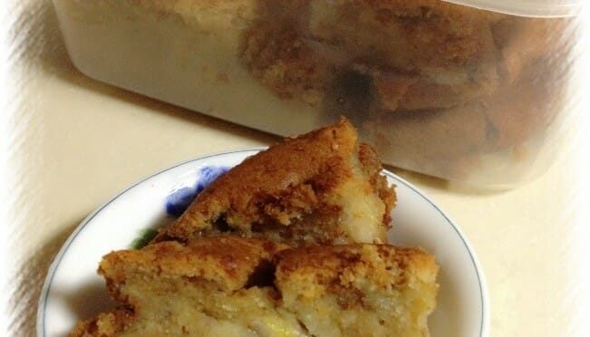 Apple-Banana Cake