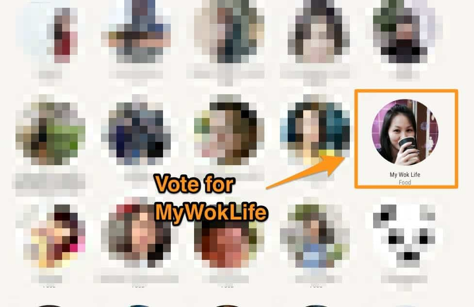 Vote for MyWokLife