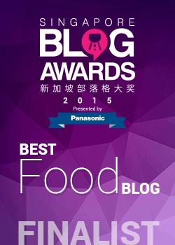 Blog Awards 2015 Best Food Blog